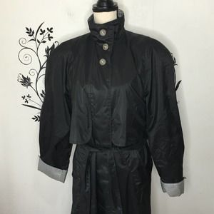 Totes packable rain trench coat